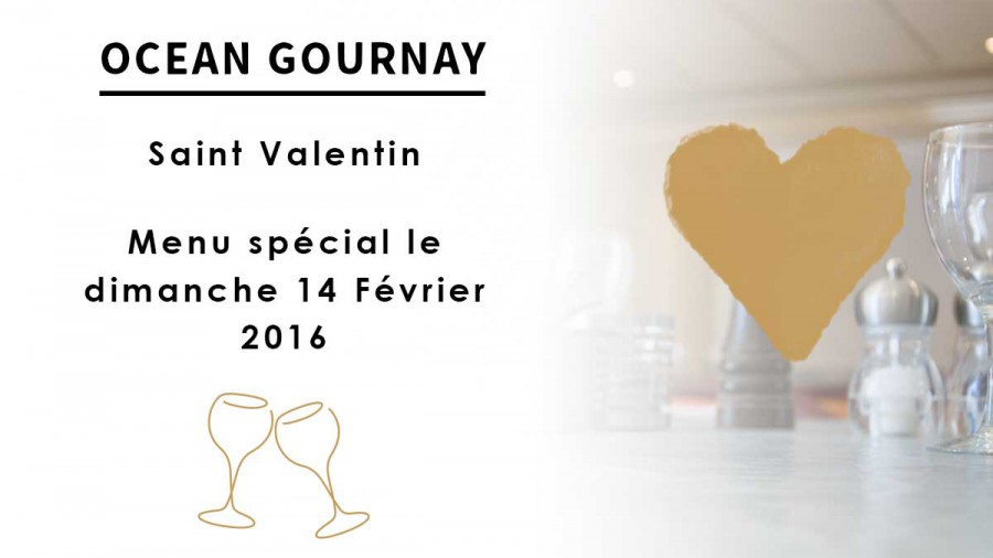 Menu Saint-Valentin 2016