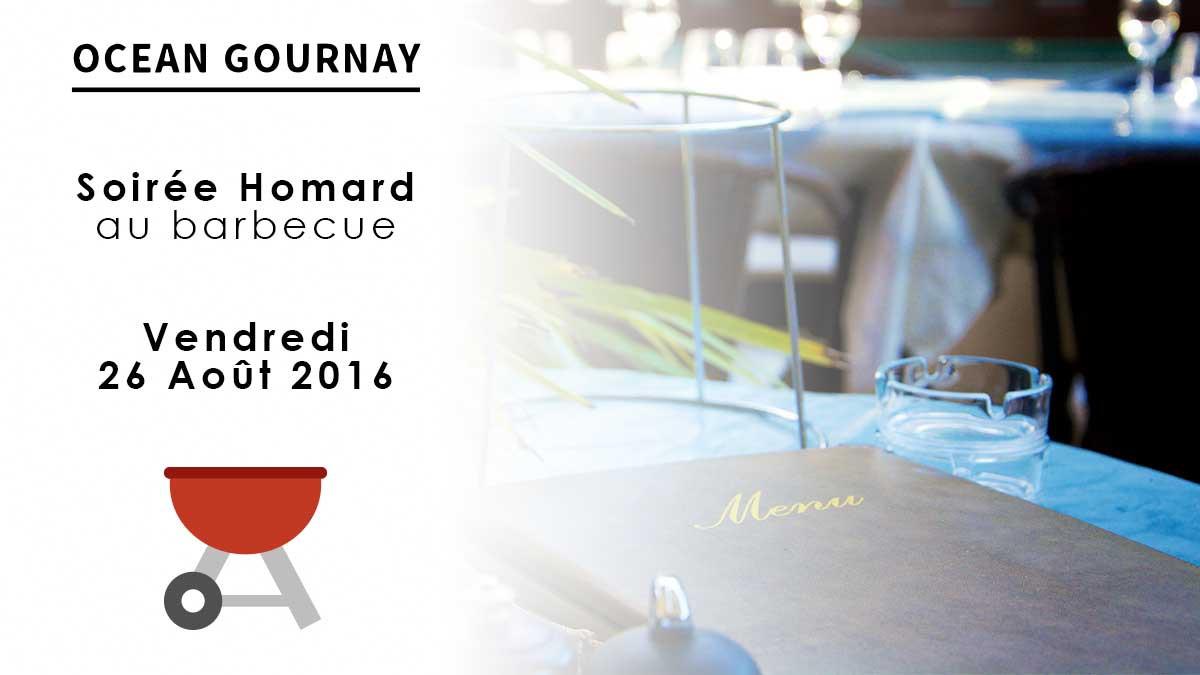 Soirée Homard au barbecue 26 Aout 2016