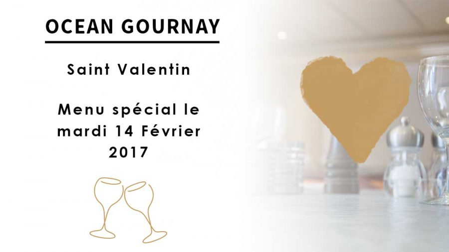 Menu Saint-Valentin 2017