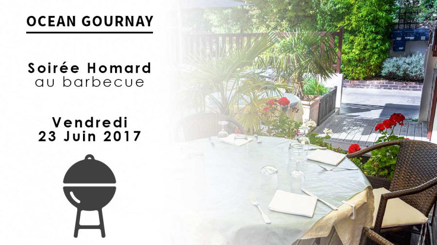 Soirée Homard au barbecue juin 2017