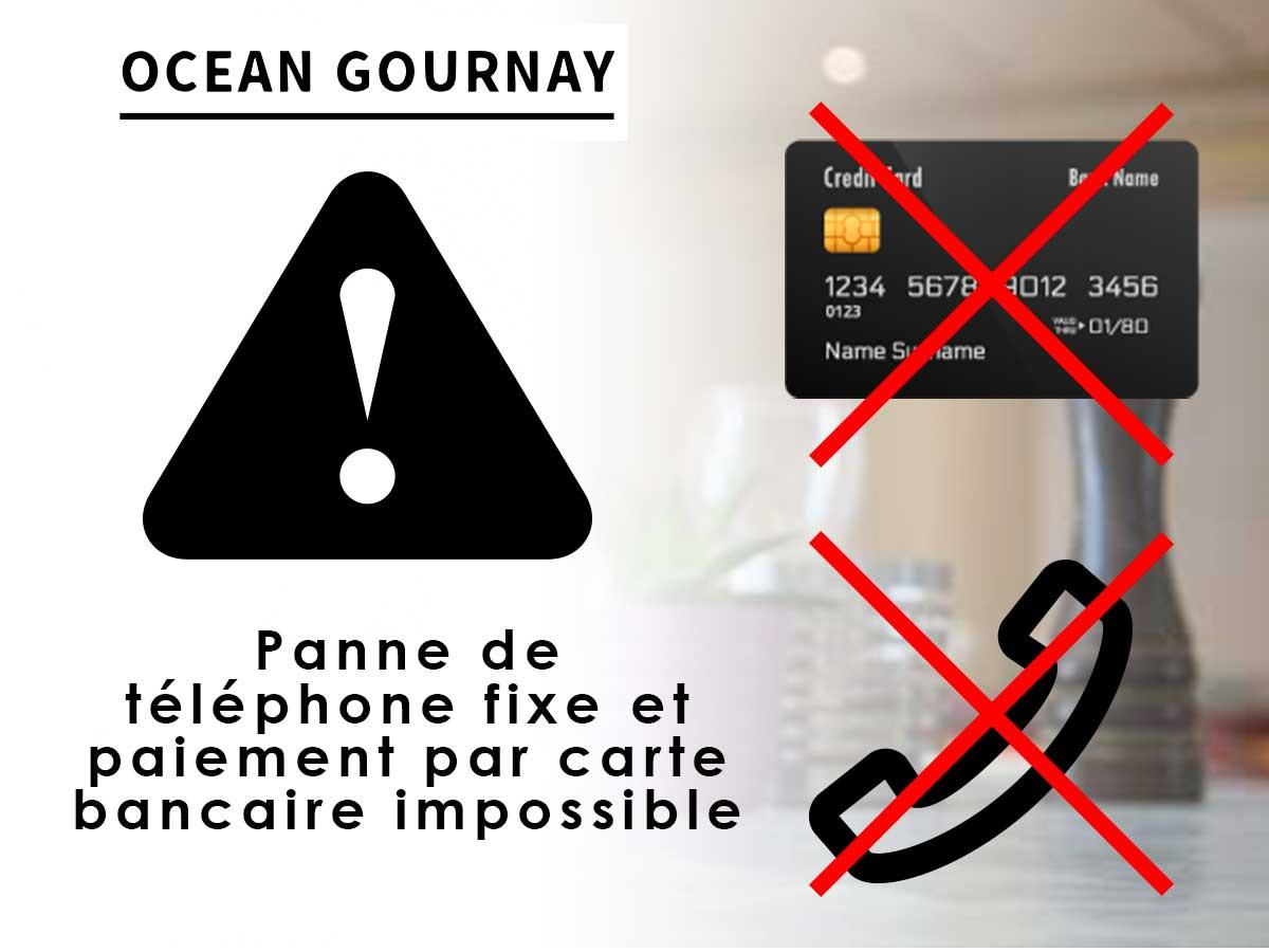 Carte Bancaire Sur Telephone.Attention Paiement Par Carte Bancaire Impossible Et Telephone Fixe