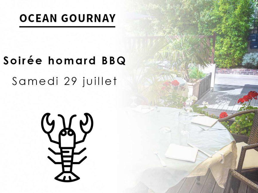 Soirée Homard au barbecue juillet 2017