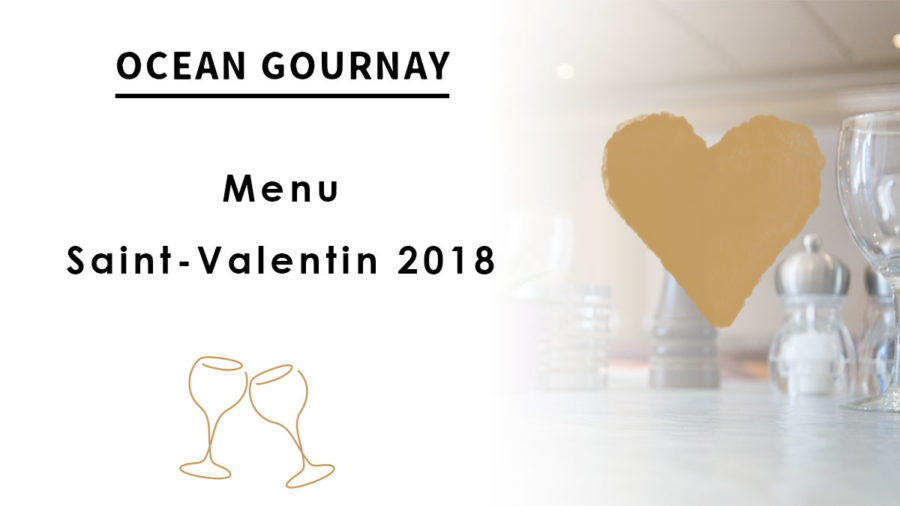 Menu Saint-Valentin 2018