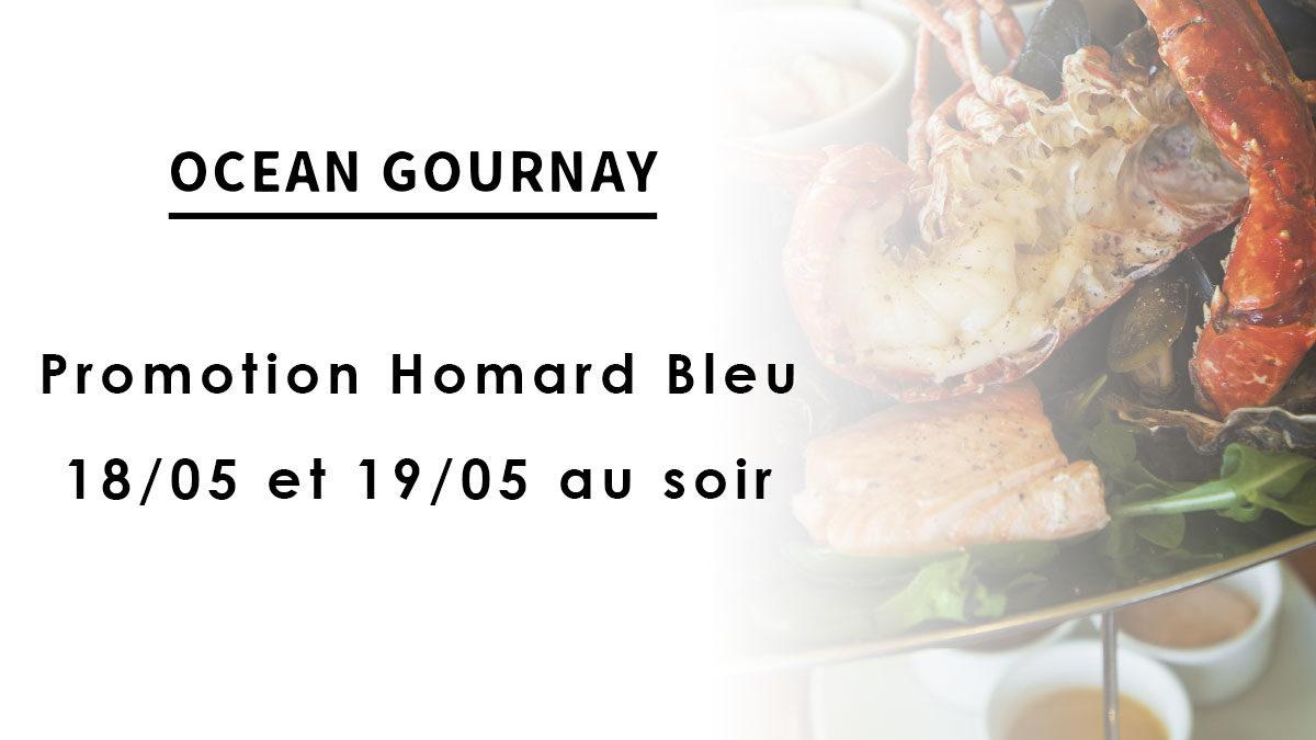 Promotion Homard Bleu – 18/05 et 19/05 au soir