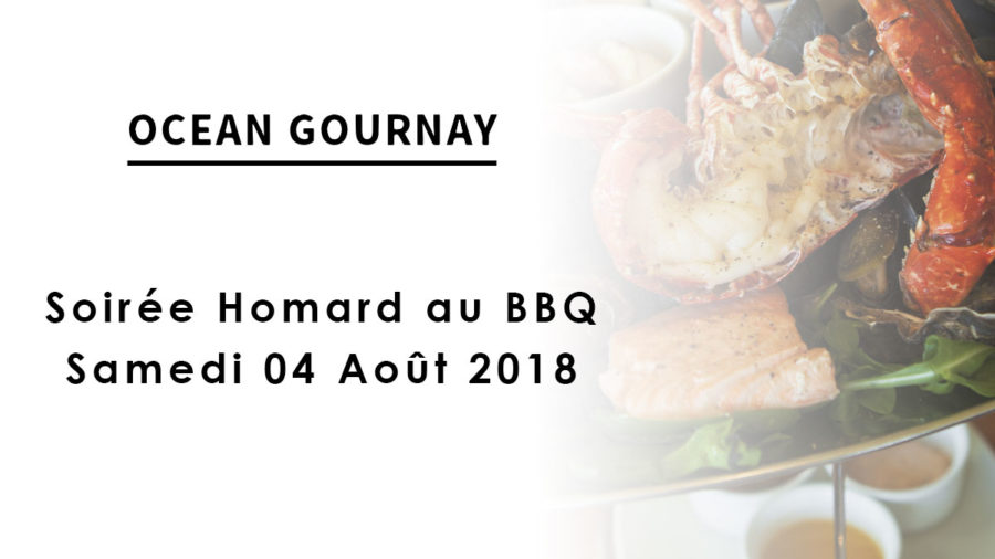Soirée Homard au barbecue du samedi 04 Août 2018
