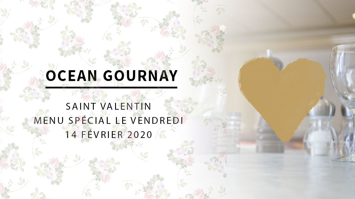 Menu Saint-Valentin 2020